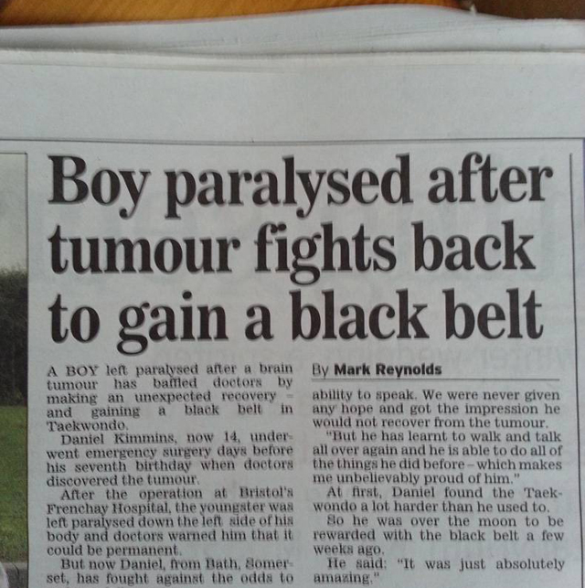 newspaper headline fail