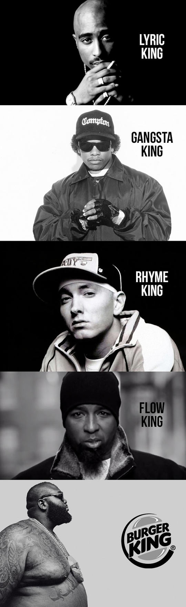 The kings of Rap Music